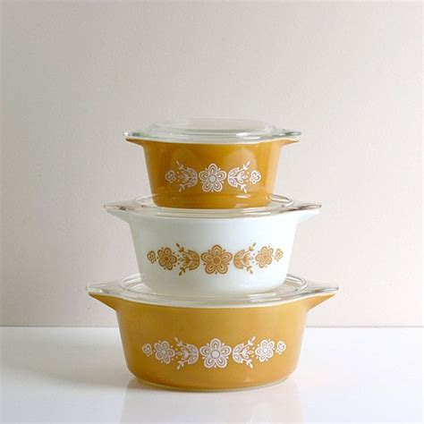 Dishes On Relationship by Pyrex Butterfly Casserole Set Home