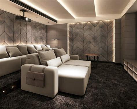 modern home theater design ideas remodel pictures