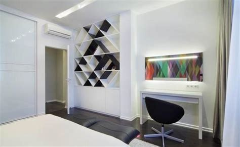 Shape Interior Design by Modern Interior Design With Symbolic Geometric Shapes And