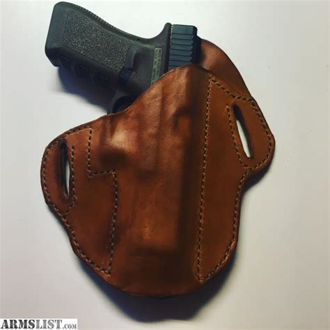 Handmade Leather Holsters - armslist for sale handmade leather glock 19 rh holster