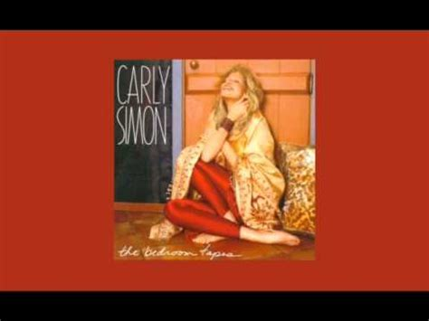 carly simon bedroom tapes scar by carly simon from the album quot the bedroom tapes