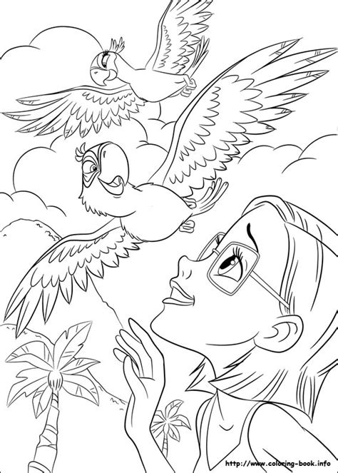 rio coloring pages online rio coloring pages rio cartoon coloring pages kids