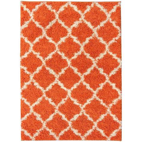Orange Shag Area Rug Orange Shag Area Rug Rugs Ideas