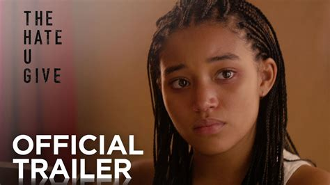 470044 the hate u give the hate u give official trailer hd 20th century fox