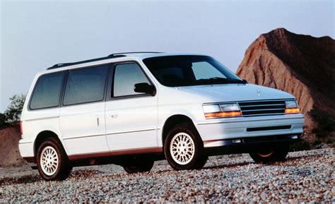 1993 plymouth voyager car and driver