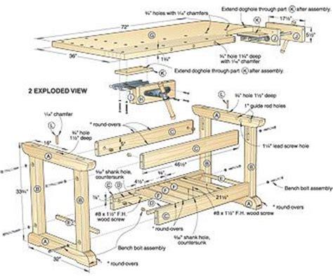 workbench plans garage    making woodwork
