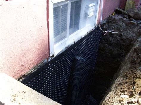 cost to waterproof basement foundation exterior basement waterproofing cost