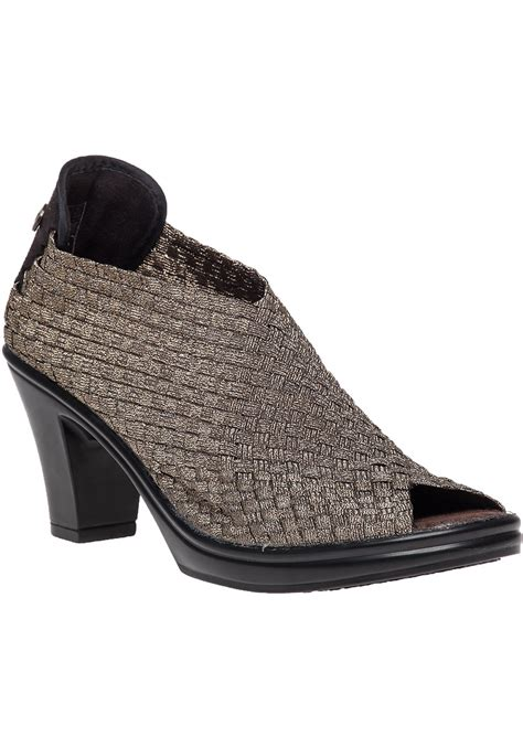 bev mev shoes bernie mev woven boots in metallic lyst