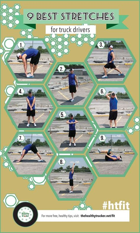 9 stretches for truck drivers bet they d work for other drivers on trips the