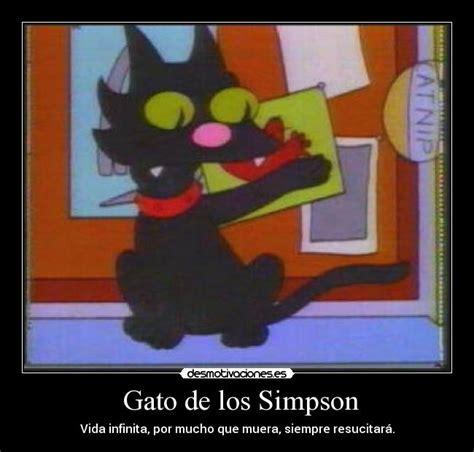 imagenes emotivas de los simpson gato de los simpson desmotivaciones