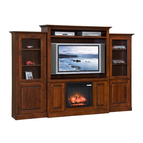 tv entertainment center with fireplace entertainment center w fireplace side towers country