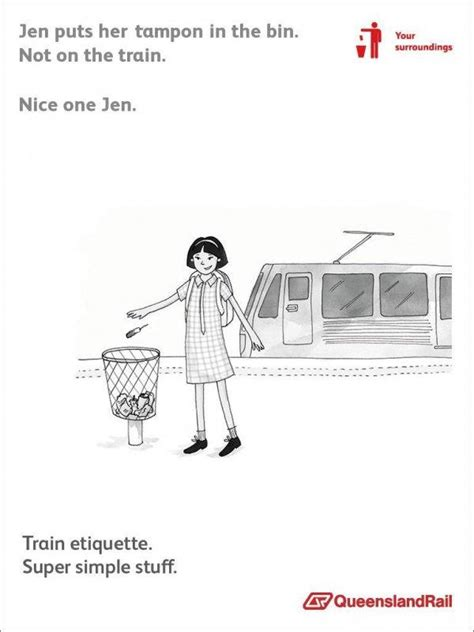 Queensland Rail Meme - queensland rail etiquette posters know your meme
