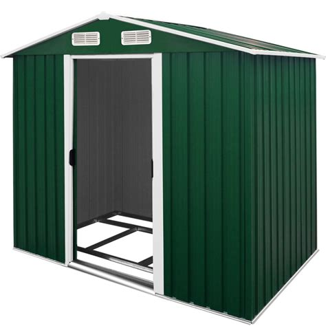 Metal Tool Shed by Metal Garden Tool Shed Apex Heavy Duty Outdoor Storage 7 X