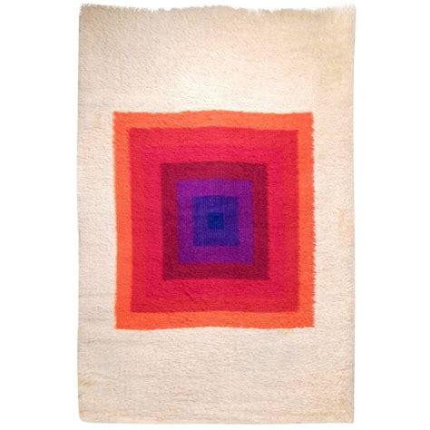 verner panton rug signed original verner panton mira romantica wool rug for sale at 1stdibs