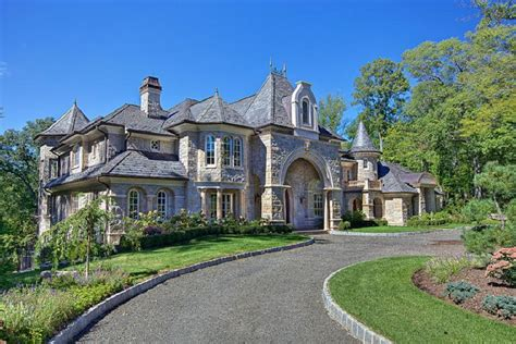 french chateau style homes alpine new jersey french chateau luxurylavishlife