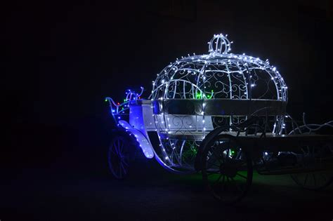christmas electric cinderella horse carriage for sale with