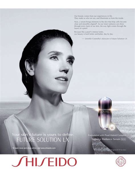 New For Shiseido Advertisements by Shiseido Advertising With Connelly Cosmetic