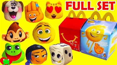Happy Meal Emoji Slobbering Puppy Mc Donald S Mc D Mcd emoji happy meal emoji world