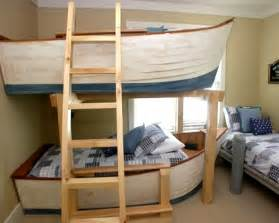 Boat Bunk Bed Top Boat Theme Decor Ideas Completely Coastal