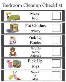 bedroom cleanup checklist organize