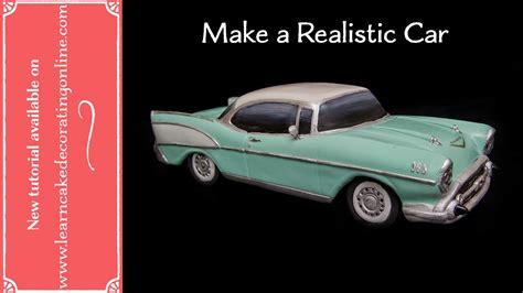 make a car how to make a realistic chevy car cake