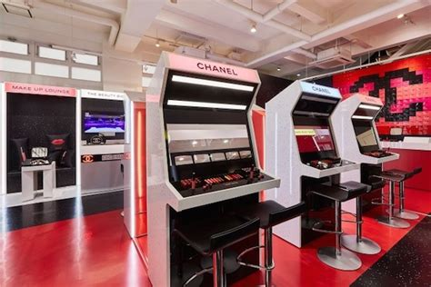 chanel opens coco game center arcade  shibuya tokyo