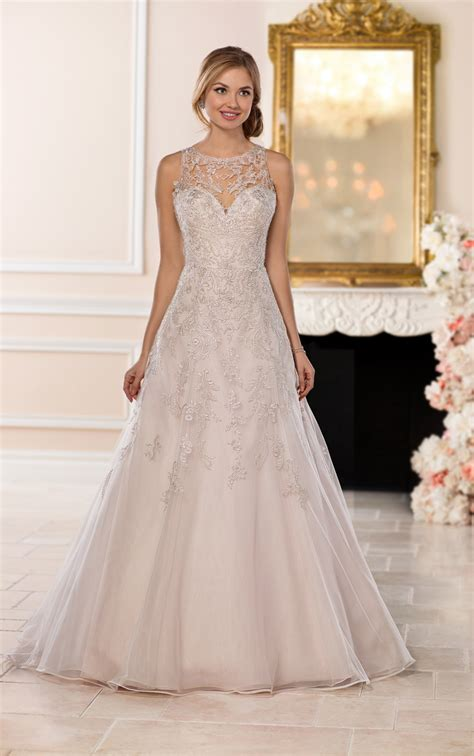 Wedding Dresses A Line by Wedding Dresses A Line Halter Wedding Dress With Silver