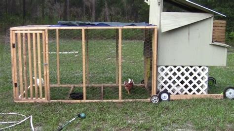 Handmade Chicken Coops - chicken run and salvaged coop update