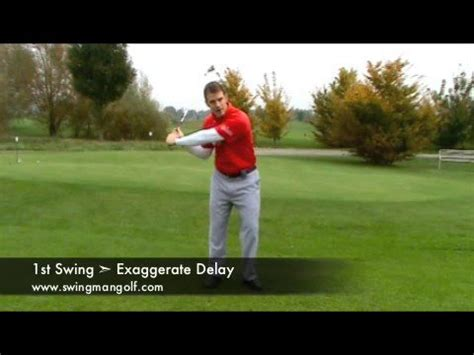 swing the clubhead golf golf tips gauging distance on pitching chipping and putting