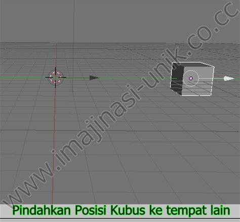 jelaskan cara membuat gambar 3d kubus sederhana ujian praktik cara membuat animasi sederhana di blender 3d