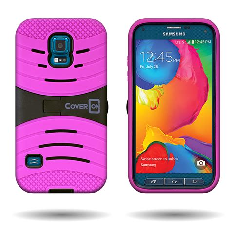 samsung galaxy s5 rugged for samsung galaxy s5 sport hybrid rugged armored cover with kickstand