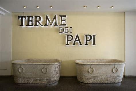 terme dei papi ingresso terme dei papi piscina esterna foto di terme dei papi