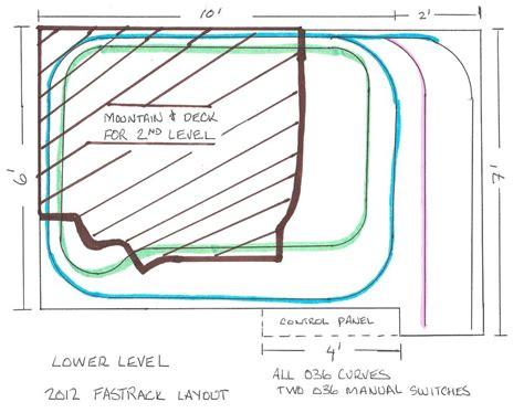 lionel o gauge layout design software 2012 layout 6 x 12 updated 2 3 13 o gauge railroading on