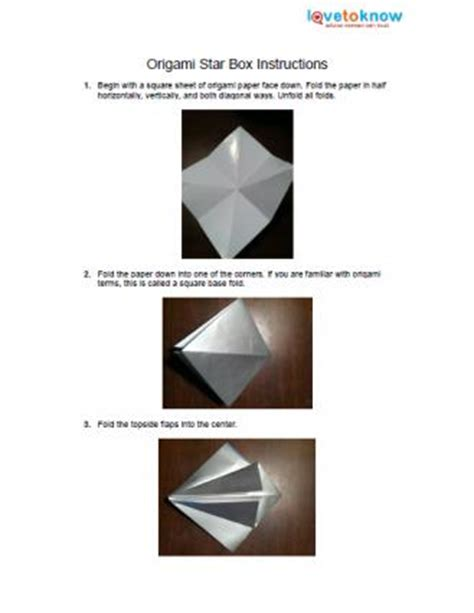 Origami Box Patterns - origami box patterns