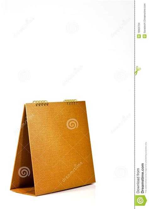 Bank Brown Desk Calendar Stock Images Image 18904704