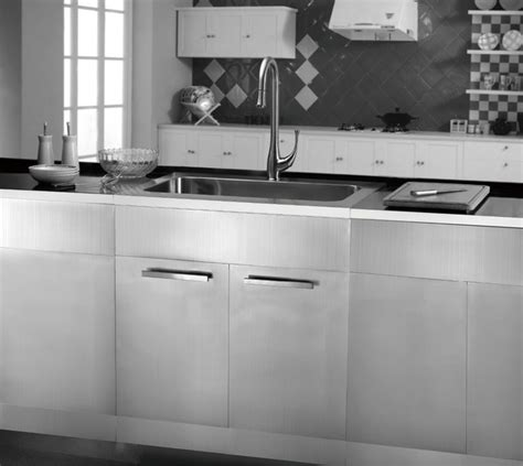 Metal Kitchen Sink Base Cabinet Stainless Steel Sink Base Cabinets Kitchen San Francisco By Kitchen Bath Products Inc