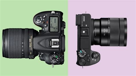 mirrorless vs dslr dslr vs mirrorless what are the differences