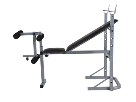 confidence fitness adjustable weight lifting bench the