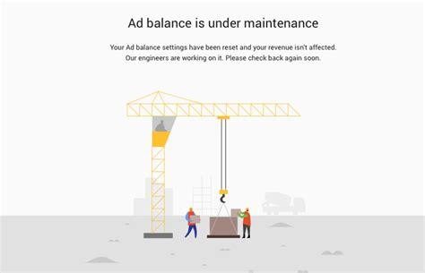 adsense balance google adsense ad balance tool back working again