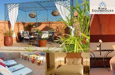 marokkanischer speisesaal riad soundouss hotel in marokko
