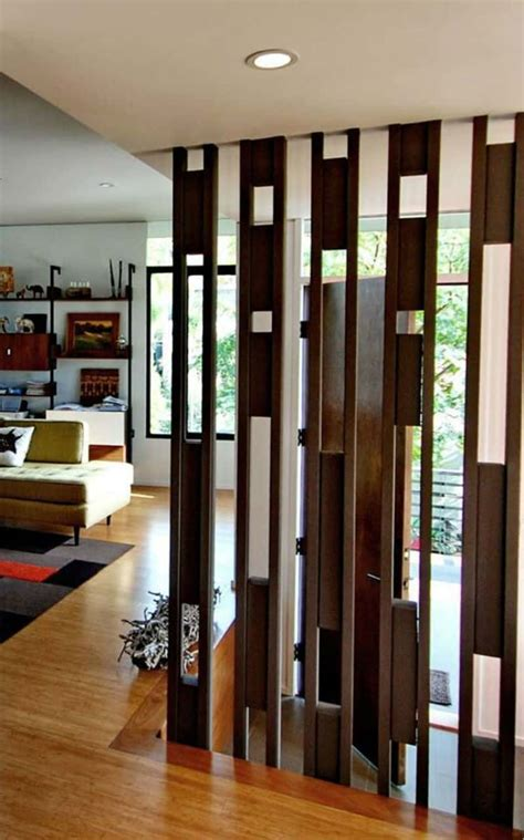 wooden partition 30 wood partitions that add aesthetic value to your home