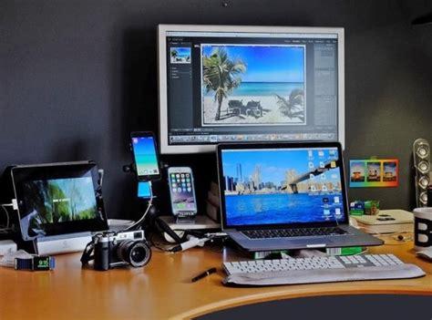 macbook pro desk setup image gallery macbook pro setup