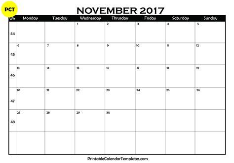 printable calendar 2017 november november 2017 calendar printable printable calendar