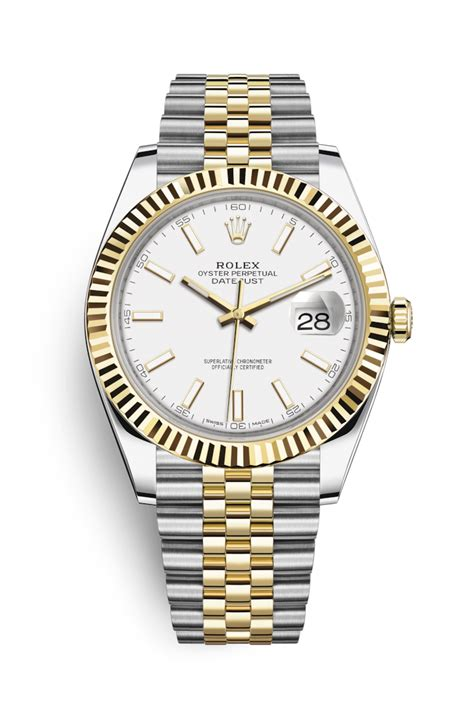 Rolex M4030 Combi Gold rolex datejust 41 yellow rolesor combination of oystersteel and 18 ct yellow gold 126333