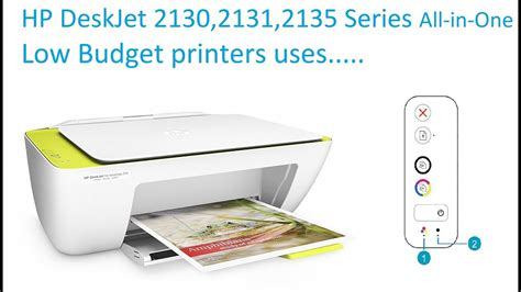 Printer Merk Hp 2135 hp deskjet ink advantage 2130 series all in one printer