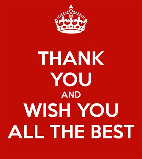 all the best thank you and wish you all the best keep calm and carry