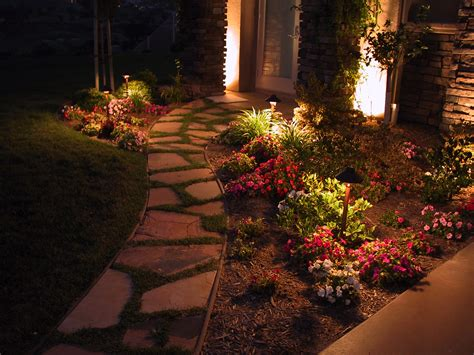 lights on landscape 5 pathway lighting tips ideas walkway lights guide install it direct
