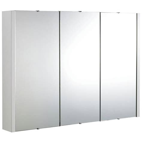 high gloss white cabinet doors lauren design high gloss white 900mm 3 door mirror cabinet