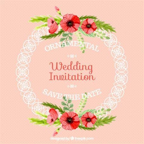 Wedding Card Vector Ai by Ai Ornamental Rounded Frame Wedding Card Vector Free