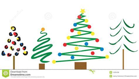 dise 241 os del 225 rbol de navidad ilustraci 243 n del vector